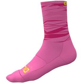 Alé Cycling Rock Socks Men fluo pink